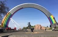 Киев встретит Евровидение с аркой в цветах радуги