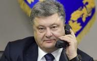 Киев опроверг данные о тайном разговоре Порошенко и Путина