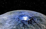 NASA showed the mysterious Ceres in the Sun