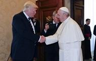 Трамп встречается с Папой Римским в Ватикане