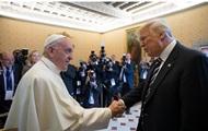 Папа Римский и Трамп обменялись подарками