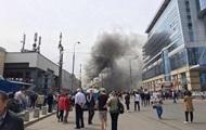 В Москве горело помещение вокзала, есть погибшие