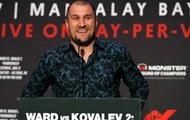 Ковалев – Уорд: контракт не предусматривает еще одного реванша