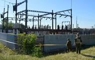 В Донецкой области пытались взорвать подстанцию