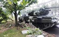 В Минобороны не комментируют ДТП с танком в центре Минска