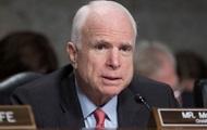 Маккейн проти рішення Трампа щодо Сирії