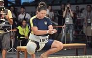 Всемирные игры: украинка Березовская завоевала серебро в сумо