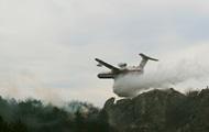 Пожары в Крыму: горит лес