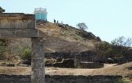 В Керчи горел археокомплекс Пантикапей