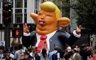 В Нью-Йорке бастуют против Трампа, есть задержанные