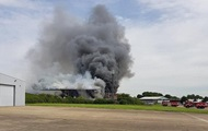 В лондонском аэропорту разгорелся крупный пожар