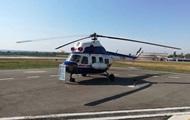 В Запорожье показали первый украинский вертолет
