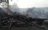 Обстрел Зайцево: сгорели дома местных жителей
