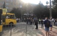 В Ивано-Франковске работники спиртзавода перекрыли дорогу