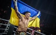 Усик вернулся в Украину после победы над Хуком