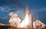 The Ariane rocket placed into orbit two satellites