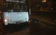 В Николаеве рейсовый автобус насмерть сбил двух человек