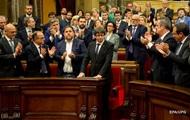 В Испании арестованы два лидера сторонников отделения Каталонии