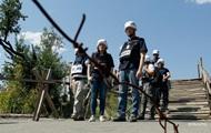 ОБСЕ: Сепаратисты привезли танки в запретную зону