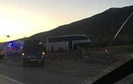 У Туреччині понад 20 туристів постраждали в ДТП