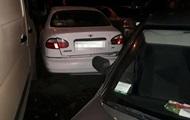 В Ровно пьяная женщина за рулем разбила четыре машины