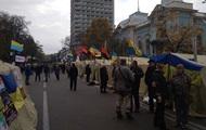 Під Радою залишаються 150 мітингувальників