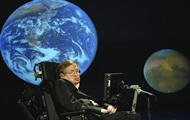 Hawking posted his thesis on the expansion of the Universe
