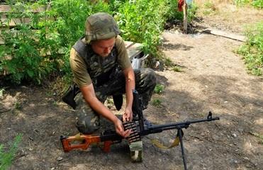 Сутки в АТО: Военных обстреливали из артиллерии