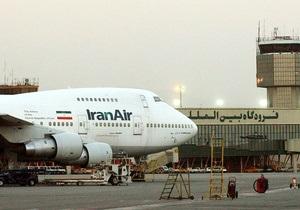 Иранские самолеты попали в черный список Еврокомиссии