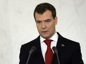 Медведев поздравил украинцев с Днем Победы