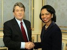 Ющенко и Райс обсудили дружбу США и Украины