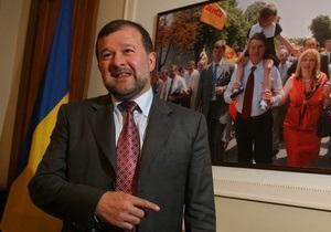 Балога отрицает свою вину в падении рейтинга Ющенко