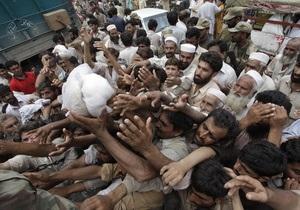 От наводнений пострадали 12 миллионов пакистанцев