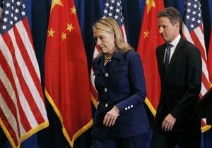 Клинтон покинула Пекин и ждет, что Чэнь последует за ней