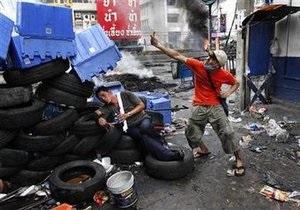 В Бангкоке не стихает противостояние: число жертв столкновений увеличилось до 35 человек
