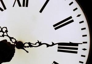 В центре Киева не работают часы