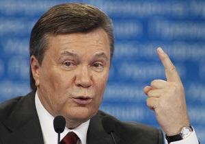 Янукович уверен, что Украина сможет вернуть статус ведущего поставщика пищевых продуктов