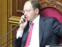 Яценюк подписал все законы, принятые совместно БЮТ и ПР