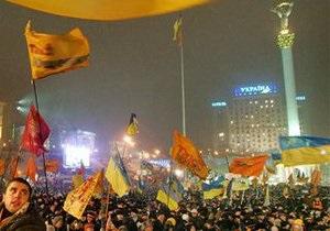 Власти Киева не советуют отмечать День свободы на Майдане: Батьківщина игнорирует призыв КГГА