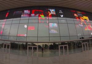 В Алма-Ате на экране Дворца республики транслировалось порно