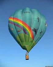 «Уникальная Украина» воплощает мечты о полете на воздушном шаре