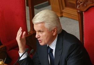 Литвин хочет привлечь силовиков для разблокирования Рады