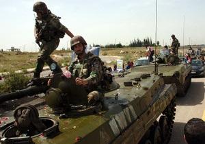 В Сирии солдаты убили одного из лидеров оппозиции