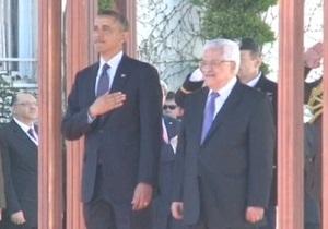Обама заверил Аббаса, что выступает за суверенитет Палестины