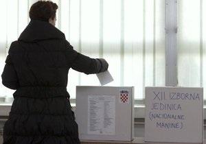 В Хорватии на выборах побеждает оппозиция