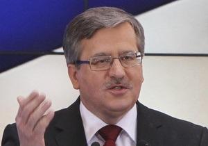 Президентские выборы в Польше выиграет Коморовский - опрос