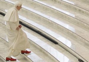 Папа римский Бенедикт XVI уходит в монастырь
