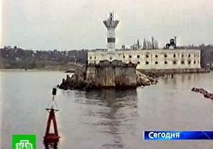 ЧФ РФ отрицает усиление охраны маяков после решения суда о передаче их Украине