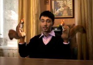 В Украине вышла реклама про человека с руками-белками