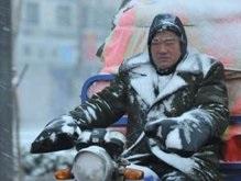 Из-за гололеда 60 тысяч китайцев попали в гигантскую пробку